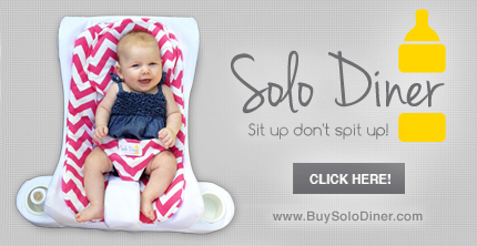 SoloDiner | Sit Up Don't Spit Up!