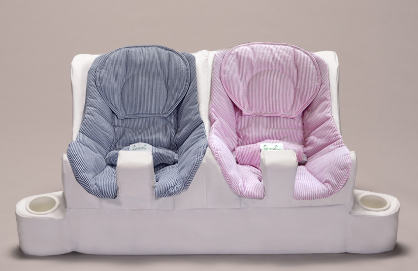 Twin Baby Feeding System Table For Two
